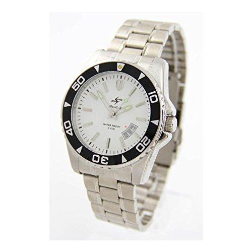 Zeigt Herren Klassische Armband Stahl Speatak 1085