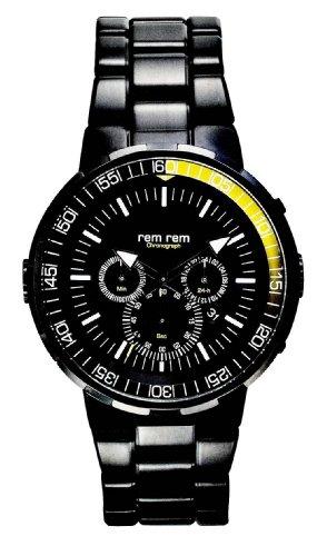 RemRem Angler Chronograph Schwarz Gelb 6031 342 OS20 4H