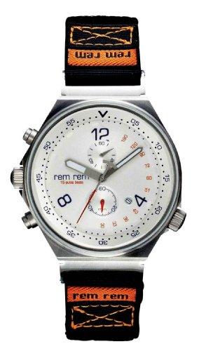 RemRem Herrenuhr Chronograph 5013 116 Klettband