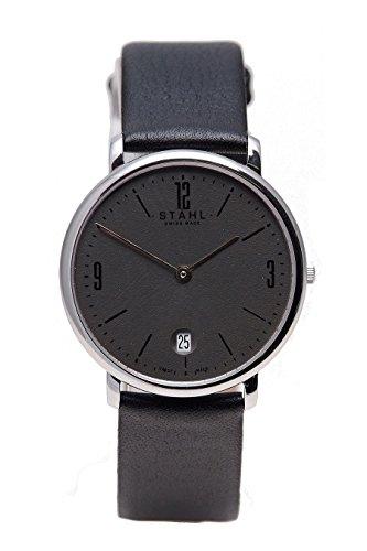 Stahl Swiss Made Armbanduhr Modell ST61004