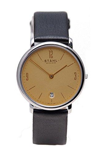 Stahl Swiss Made Armbanduhr Modell ST61014