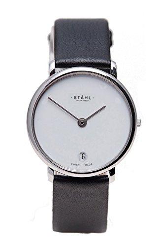 Stahl Swiss Made Armbanduhr Modell ST61035