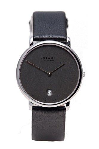 Stahl Swiss Made Armbanduhr Modell ST61020
