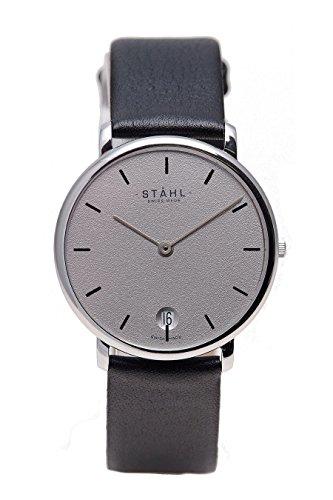 Stahl Swiss Made Armbanduhr Modell ST61007