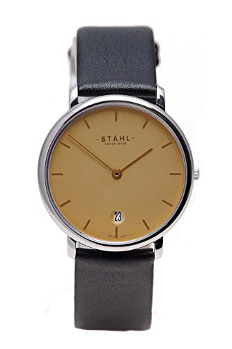 Stahl Swiss Made Armbanduhr Modell ST61052