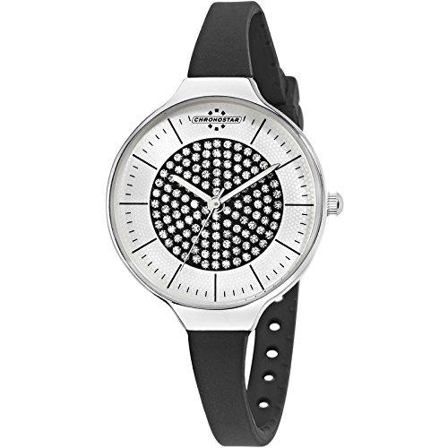 Chronostar Uhren Toffee schwarzen Kristallen R3751248512
