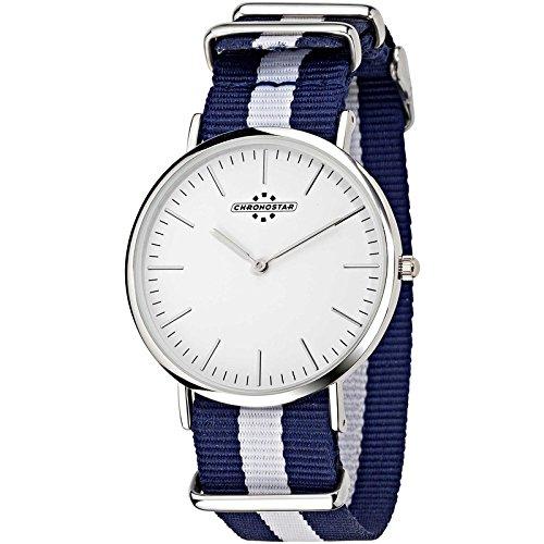 Chronostar Uhren adrette blau weiss R3751252003