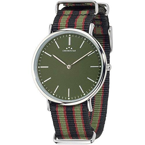 Chronostar Uhren Preppy schwarz gruen R3751252007
