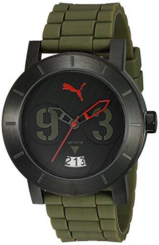 Puma Time Damen Armbanduhr Analog Quarz Kautschuk PU103571005