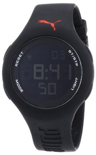 Puma Damen Armbanduhr Digital Loop Black Quarz A PU910801005