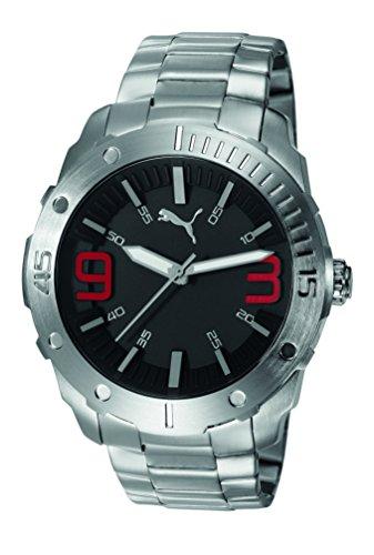 Puma Time Herren Armbanduhr Echo Analog Quarz Edelstahl PU103881003