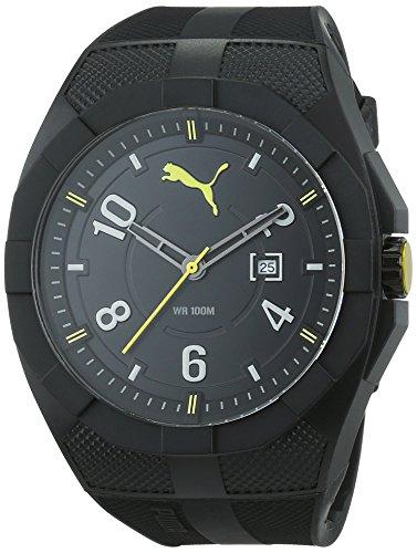 Puma Herren Armbanduhr XL Iconic Analog Quarz Resin PU103501002