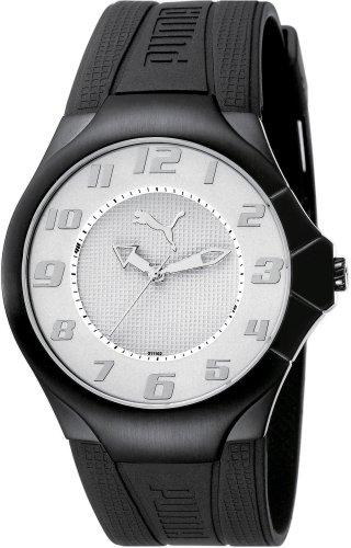 Puma Time Herrenuhr Slim Pedal Silver 4405323
