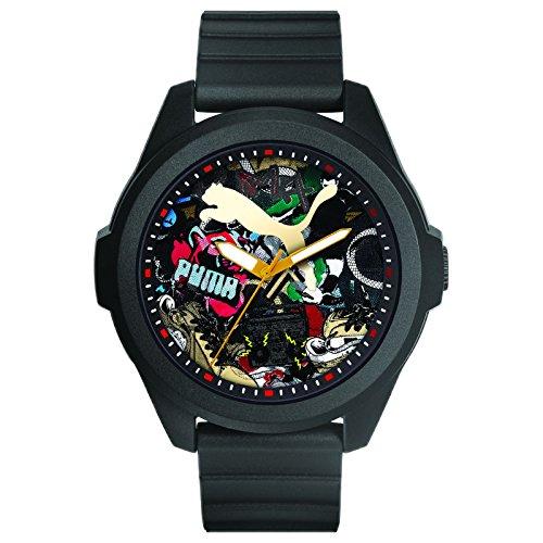 Puma GAME Herrenuhr schwarz mehrfarbig PU102931001