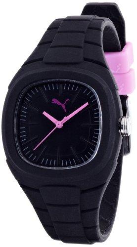 Puma Time Damen Armbanduhr Bubble Gum S Analog Quarz Silikon PU102882002