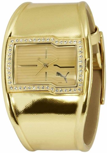 Puma Time Damenarmbanduhr SHINE GOLD PU101502001