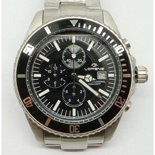Lorenz Uhr Crono 27184bb Stahl Chronograph Sub Professional Listenpreis 359 gecomarket