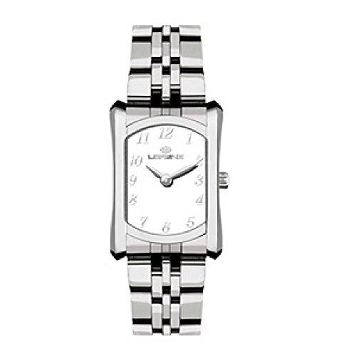 Uhr Lorenz Damen 027169 AA Quarz Batterie Stahl Quandrante weiss Armband Stahl