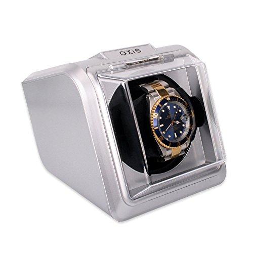AXIS AXKA078S Automatischer Uhrenbeweger fuer 1 Uhr Silber