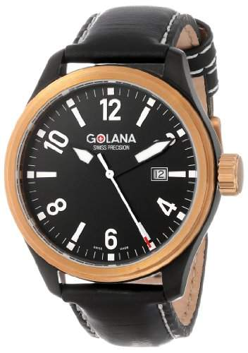 Golana Aero Pro Swiss made Aviators Chronograph Watch Herrenuhr AE2001