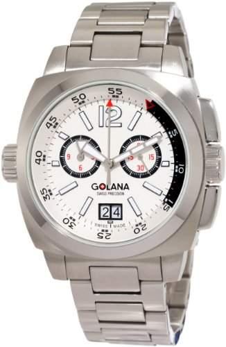 Golana Aero Pro 400 Chronograph mit Grossdatum Swiss Made AE 4004