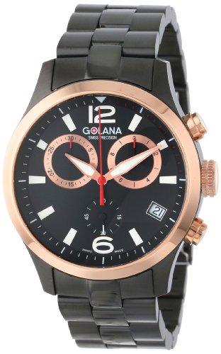 Golana Aero Pro Herrenuhr Chronograph mit Datum Swiss Made AE 220 2