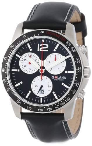 Golana Terra Pro Swiss made All Terrain Chronograph Watch Herrenuhr TE2001