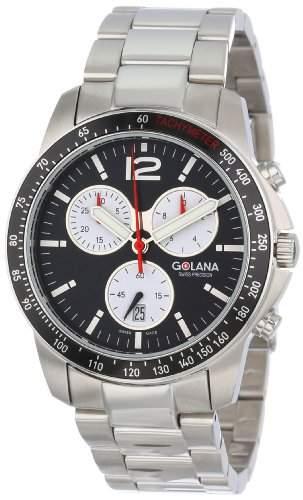 Golana Terra Pro Swiss made All Terrain Chronograph Watch Herrenuhr TE2002