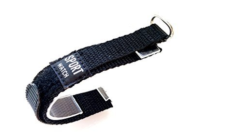 Uhren Armband Scratch Sport Watch Schwarz 14 mm