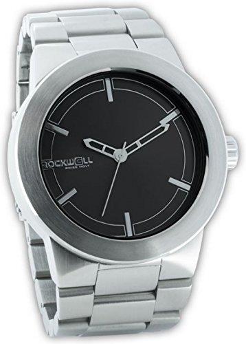Rockwell Time Maverick Silber Fall schwarz Zifferblatt