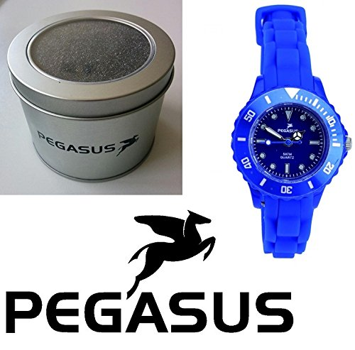 Pegasus Uhr Colour Watch blau