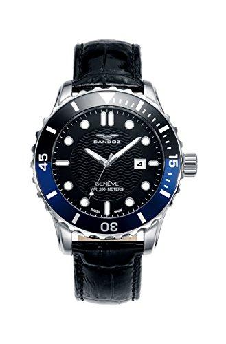 Schweizer Uhr Sandoz Ritter 81397 57 Diver Collection