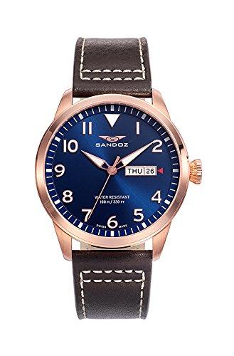 Schweizer Uhr Sandoz Mann 81421 35