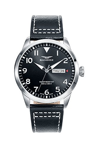Schweizer Uhr Sandoz Mann 81421 55