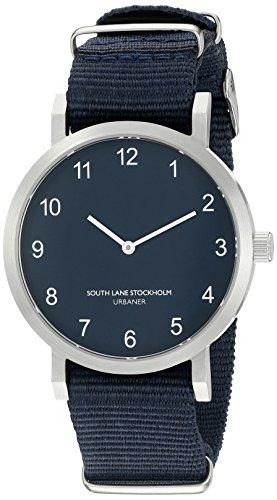 South Lane Unisex 5002 Urbaner Analog Display Japanische Quarz blau Armbanduhr