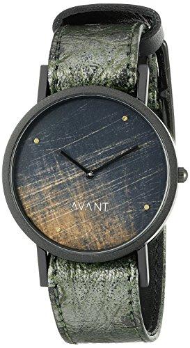 South Lane Unisex 8101 Swiss Analog Display Swiss Quartz Black Watch