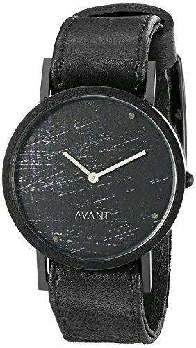 South Lane Unisex 8203 Swiss Analog Display Swiss Quartz Black Watch