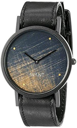 South Lane Unisex 8401 Swiss Analog Display Swiss Quartz Black Watch