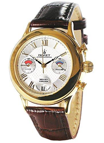 POLJOT Int Chronograph Gorbatchov 3133 Mechanisch Russian Watch