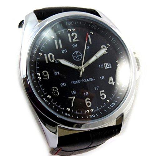 Armbanduhr french touch Trendyschwarz
