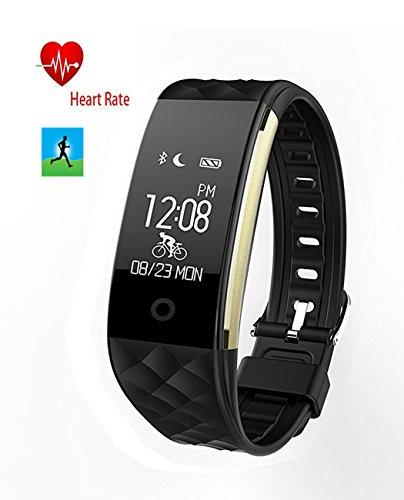 Bluetooth Sync Smart Watch Armband Fitness Schlaf Tracker Activity Tracking Smartwatch Call Nachricht Erinnerung Anruf annehmen und Dial Anruf Nachricht Stoppuhr Music Play druecken