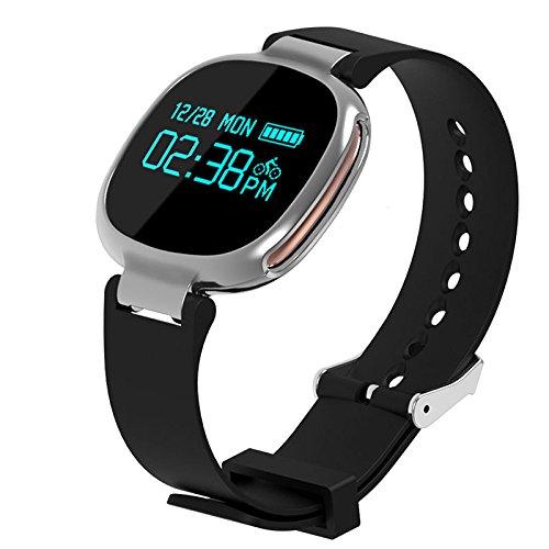 Bluetooth Smart Watch Herzfrequenz Schwimmen Monitor IP67 Wasserdicht Fitness Tracker