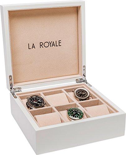 LA ROYALE BIANCO Uhrenbox