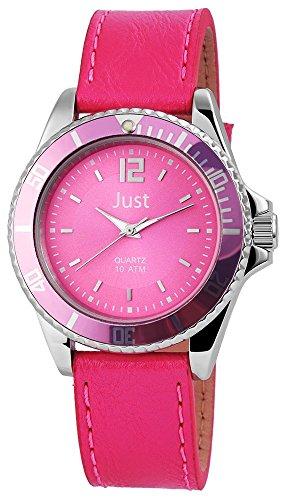 Just Analog Echtleder 40 mm Pink 48 S3857N PI