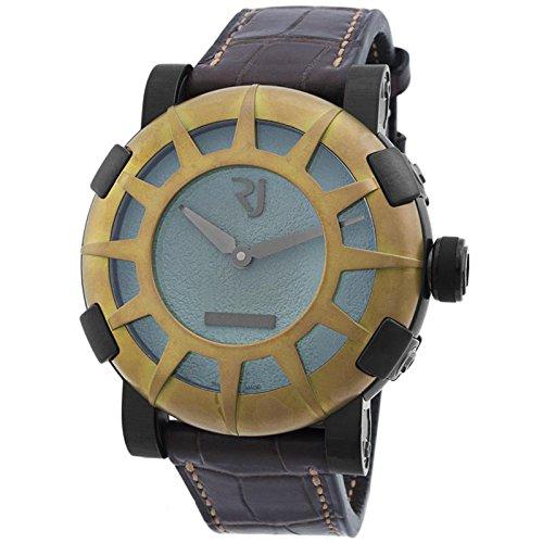 Romain Jerome Liberty DNA Limited Edition Verdigris Bronze Automatische Herren Armbanduhr RJ T AU Li 001 01 db