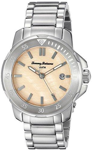 Tommy Bahama Damen 10018298 Laguna Analog Display Japanisches Quartz Silber Uhr