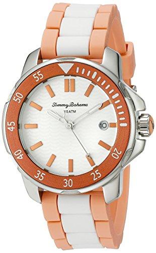 Tommy Bahama Damen 10018302 Laguna Analog Display Japanisches Quarz Weiss Armbanduhr