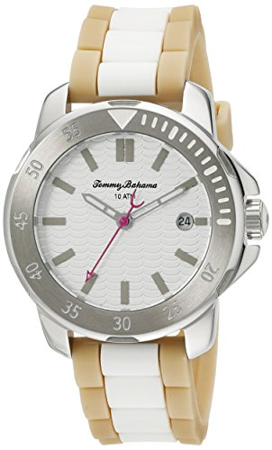 Tommy Bahama Relax Damen 10022439 Laguna Analog Display Japanisches Quarz beige armbanduhr