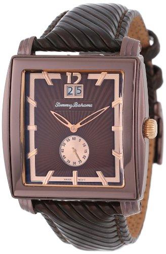 Tommy Bahama Schweizer Maenner TB1125 Cairo Leder Uhr