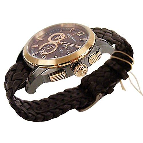 Tommy Bahama TB1278 Herren Weekender Rose Gold Ton Luenette Chronograph Datum Armbanduhr